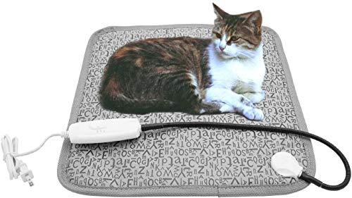 Milaloko Alfombrilla de calefacción eléctrica para Perro y Gato, Ajustable, Resistente al...