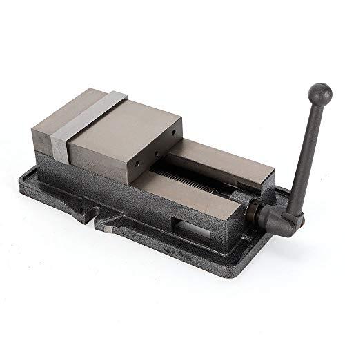 Tornillo de banco de 6 pulgadas de precisión, tornillo de banco paralelo de mesa tornillo de banco fijo cuerpo de hierro fundido Table Vise