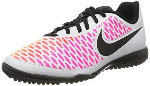 Nike Unisex Baby Jr Magista Onda TF Fußballschuhe, Weiß (White/Black-Pink Blast-Volt), 35 EU