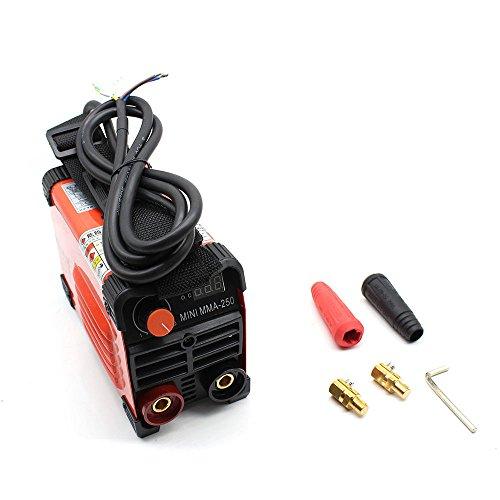 saldatrice ad elettrodo 160A Elettrodi IGBT MMA Inverter Saldatrice Portatile Inverter Elettrodi...