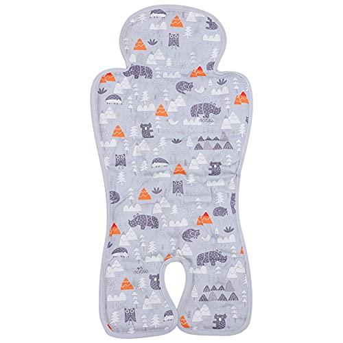 TOYANDONA Revestimiento de Asiento de Bebé de Malla de Aire 3D para Cochecitos Asientos de Coche Saltador Y Más Grueso Almohadón Protector de Asiento Apoyos Recién Nacidos Y Niños Pequeños