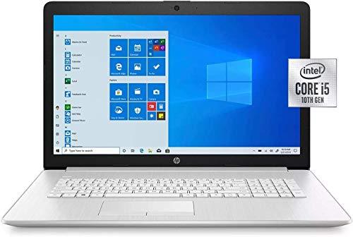 "HP - 17.3"" HD+ Touchscreen Laptop - 10th Gen Intel Core i5 - 8GB Memory - 256GB SSD - Numeric Keypad - DVD-Writer - Windows 10 Home"