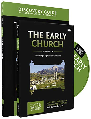 Early Church Discovery Guide with DVD: Becoming a Light in the Darkness (That the World May Know)