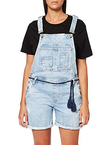 Pepe Jeans Abby Mono, Azul (Denim 000), Large para Mujer
