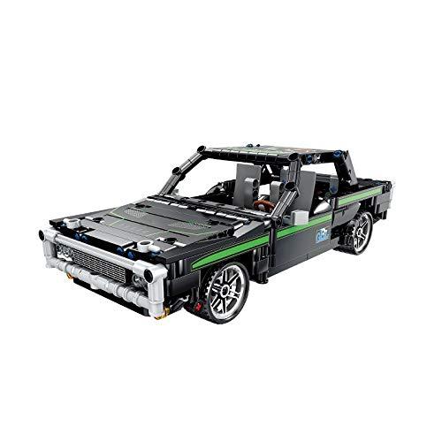 Moc City Pull Back Racing Car Model Building Blocks Creator Technic Supercar Racer Vehículo Ladrillos Educativos para Niños