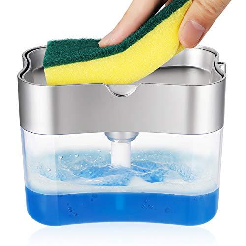 LARMHOI Liquid Dispense, IP65 Waterproof, Anti-Leakage, Soap Dispenser for Kids, Kitchen, Bathroom