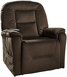 Signature Design by Ashley Samir Power Lift Recliner Coffee