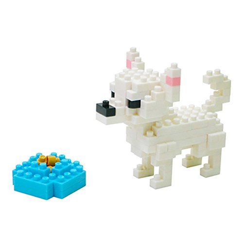 Nanoblock 14668 - Chihuahua, 3D-Puzzle, Mini Collection, 110 Teile