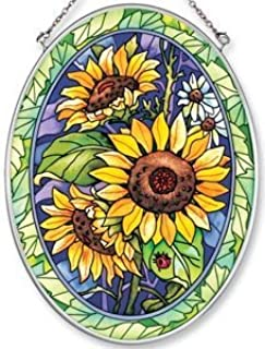 Best sunflower stained glass Reviews