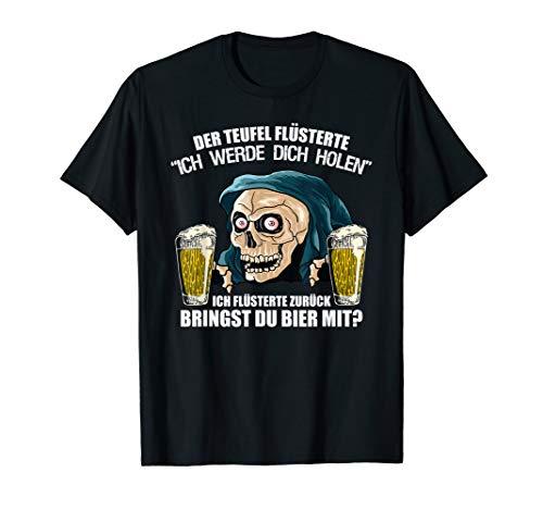 Bier Teufel - Sensenmann T-Shirt