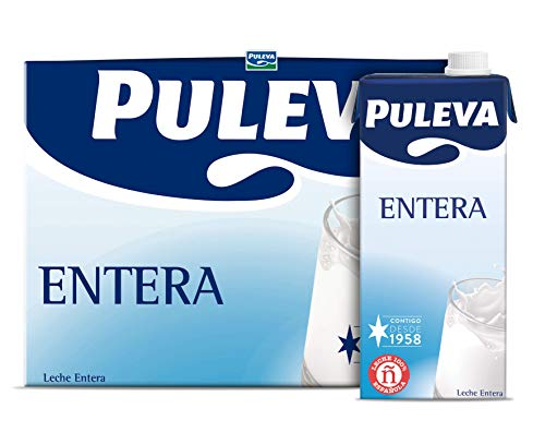 Puleva Leche Entera - 6 x 1 L