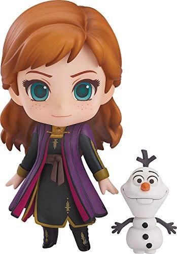 Good Smile Frozen 2: Anna (Travel Costume Version) Nendoroid Action Figure