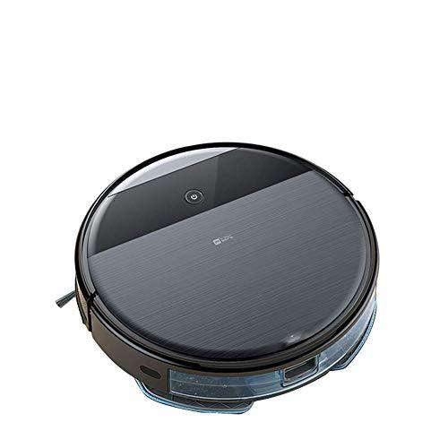 Robot Aspirador Inteligente automático lleno de ultra delgada de Barrido 4000Pa fuerte succión se enreda Auto-Carga gota-Sensor robótica Limpiador bueno for pisos duros y alfombras de pelo corto del c