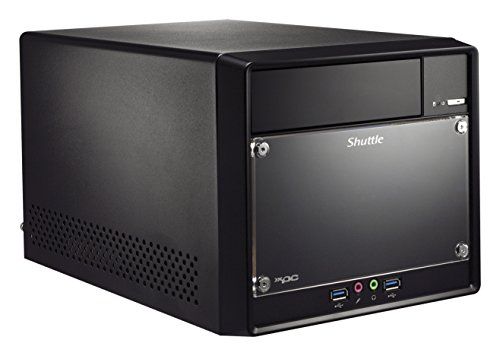 Shuttle Barebone Xpc Cube SH110R4 Sockel 1151 i3/i5/i7 2xDDR4 3Xsata Intel H110 PCH 300Watt Schwarz