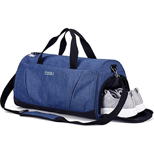 BonClare Gym Bag with Shoes Compartment and Wet Pocket,Sports Duffel...