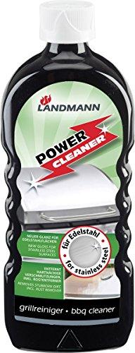 Landmann Power Cleaner 15800, Edelstahl Reinigungsmittel, 500ml, Grillreiniger