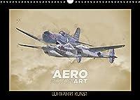 Aero Action Art - Luftfahrt Kunst (Wandkalender 2022 DIN A3 quer): Luftfahrt Kunst. Illustrationen von Militaerflugzeugen in dynamischer Haltung. (Monatskalender, 14 Seiten )