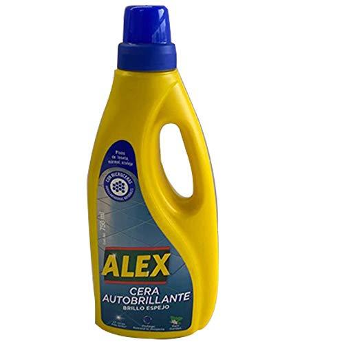 Alex - Cera Incolora, Brillo Intenso y Duradero - Todo Tipo de Maderas - 750 ml