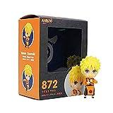 Huhu 9cm Naruto Shippuden Figura Naruto 872 Nueva versión PVC Figura de acción Colección Modelo de J...