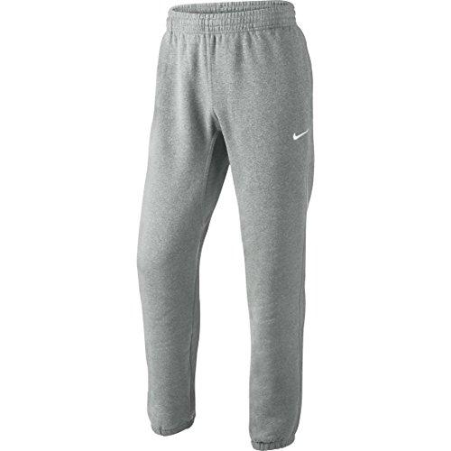 Nike Herr klubb fleece träningsoverall joggingbyxor Grå Grå – mörkgrå ljunge/vit L