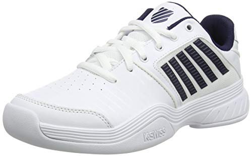 K-Swiss Performance Herren KS TFW Court Express Carpet-White/Navy Tennisschuh, 43 EU