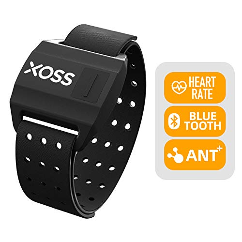 XOSS Optical Armband Heart Rate Monitor Bluetooth 4.0& ANT+ Wireless Heart Rate Health Accessories Fitness Tracker(Armband)