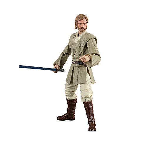 Hasbro Star Wars The Black Series - Obi-WAN Kenobi (Cavaliere Jedi) (Action Figure da Collezione da 15 cm Ispirata al Film Star Wars: L'Attacco dei Cloni)