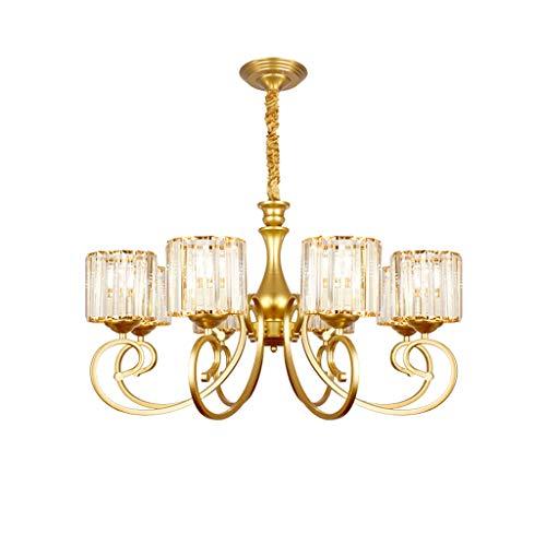 Lámparas Colgantes Oro cuerpo de la lámpara de la lámpara de la lámpara de la sala comedor de la lámpara habitación de la personalidad creativa del dormitorio del hogar de la lámpara Lámpara de Techo