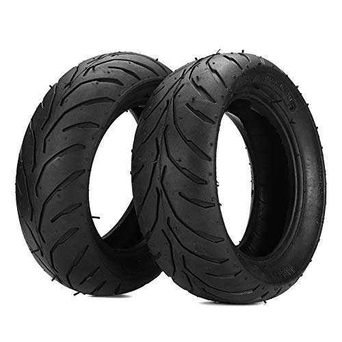 eamqrkt Front Rear Tire+Inner Tube 90/65/6.5 110/50/6.5 for 47cc 49cc Mini Pocket Bike