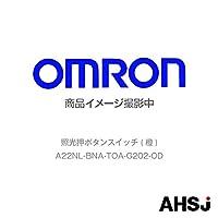 オムロン(OMRON) A22NL-BNA-TOA-G202-OD 照光押ボタンスイッチ (橙) NN-