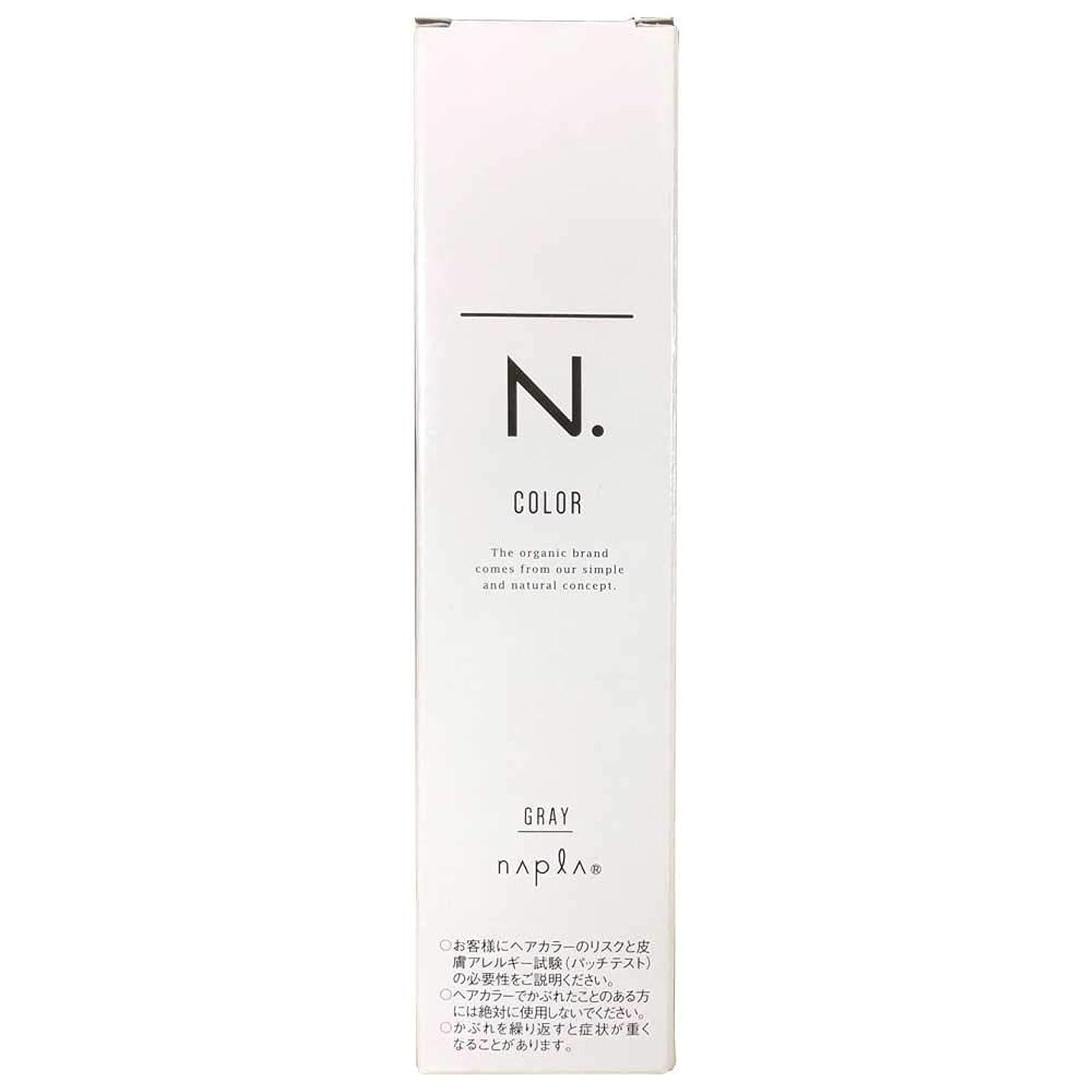 幸運オリエンタルしばしばナプラ エヌドットカラー グレイファッション 第1剤 80g (G-4NB)