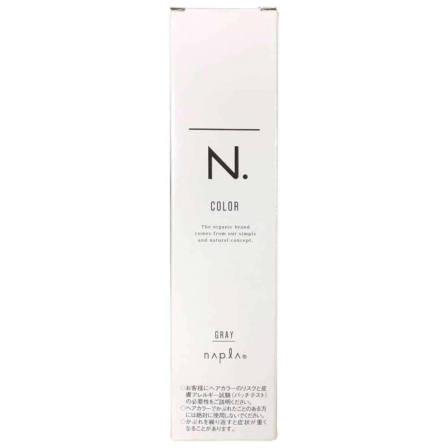 高音イライラする息子ナプラ エヌドットカラー グレイファッション 第1剤 80g (G-7NB)