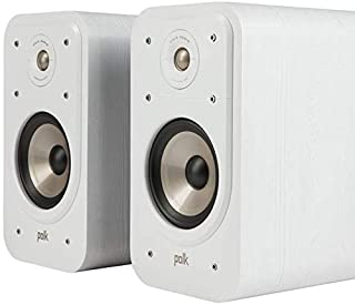 Polk Audio S20E Signature Polk Audio Signature S20 E Shelf Speaker White White
