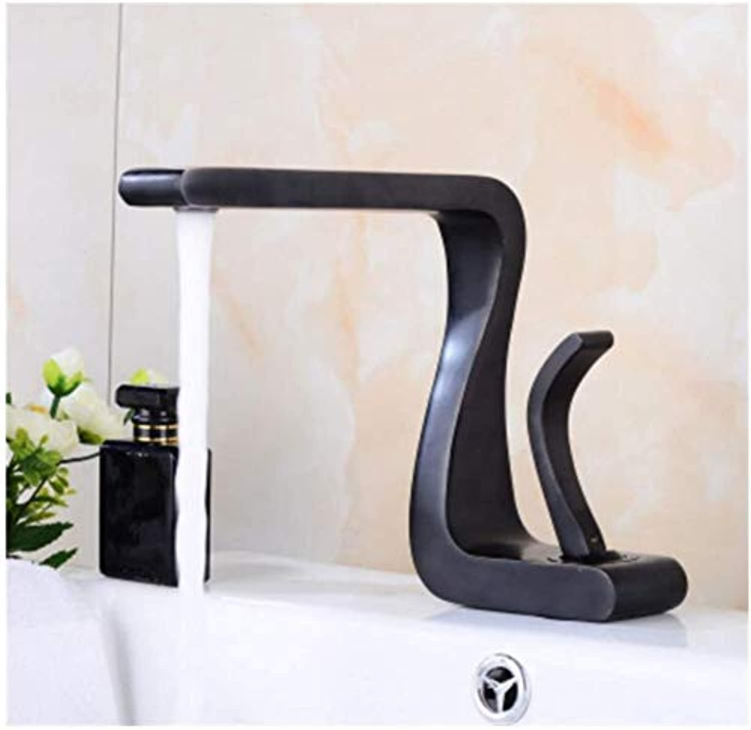 Modern Double Basin Sink Hot and Cold Water Faucet Faucet Single Handle Hot & Cold Mixer Tap