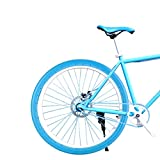 700x23c Bike Tire, 26 Inch Bicycle Tire Solid Tube Explosion-Proof Tyre for MTB and 700c Road Bikes(Blue)