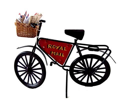 Melody Jane Maison de Poupées Miniature Poste Bureau Royal Mail Poste Facteur Vélo