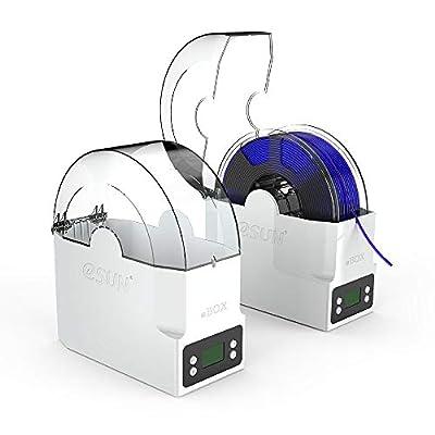 eSUN eBOX 3D Printing Filament Box Second Generation, dehydrate Filament, Keep Filament Dry and Measure Filament Weight