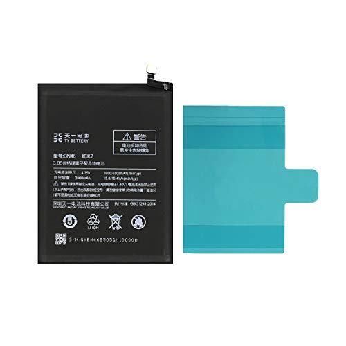 [TY BETTERY] Bateria Compatible con BN46 Xiaomi Redmi Note 3, Note 8, Note 8T