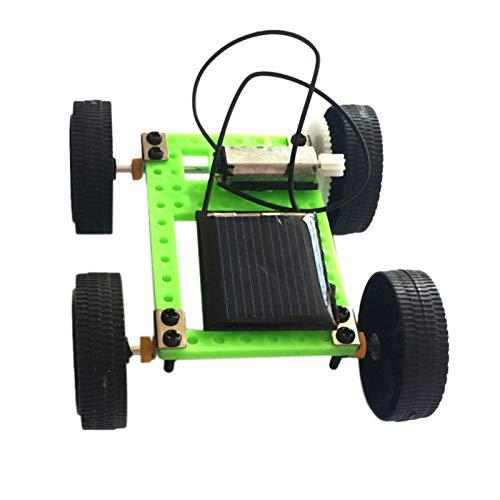 Camisin Coche Juguetes Solares 1 Juego Kit De Coche DIY Juguete De Energía Solar Gadget Educativo para Ni?os