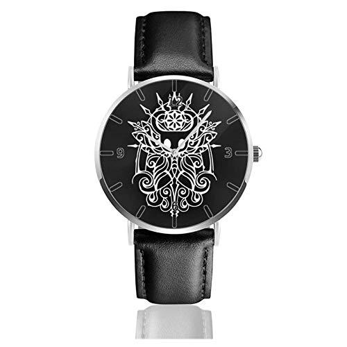 Orologio sportivo classico 38mm Viaggi sportivi Watch Cavaliere Vuoto Timer polso minimalista impermeabile alla moda PU Strap