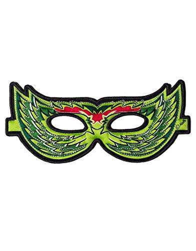 Dreamy Dress-Ups 50771verde pájaro máscara (talla única)