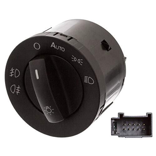 Febi Bilstein 46805 Interrupteur pour cuvette de, Feux de croisement, et antibrouillard – Phare antibrouillard VolksWagen