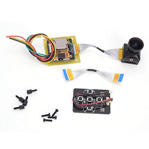 Keenso Drohnen-Split-Kamera, 4K-Split-Kamera Mini-WDR-Sensor TV-Ausgang mit geringer Latenz RC-Drohnenzubehör
