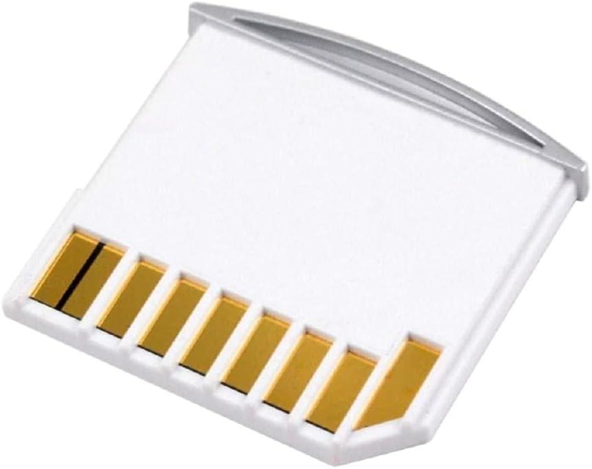 Cablecc Micro SD TF to SD Card Kit Mini Adaptor for Extra Storage Air/Pro/Retina White