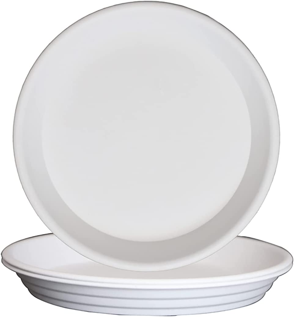 FREEGDN Plant Saucer 3Pcs 5inch Trays Challenge the lowest price of Japan ☆ Saucers At the price of surprise Pot Plastic