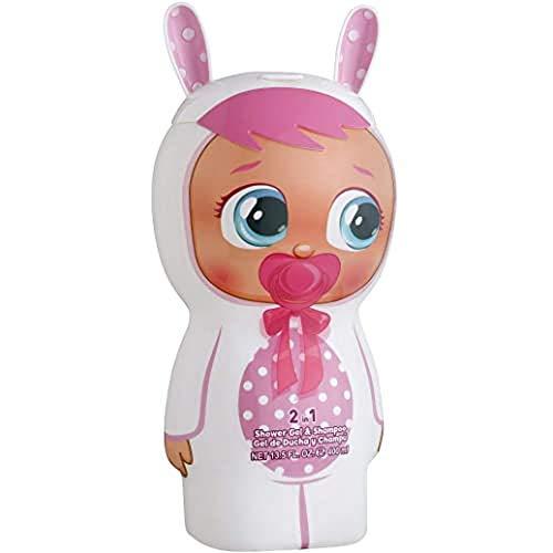 CRY BABIES, 2in1 Duschgel Shampoo 3D Figur mit tollem Duft für Kinder und Erwachsene 1er Pack ml, 400 ml