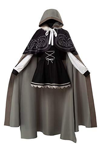 Bilicos Grand Order Gray Traje Cosplay Disfraz Mujeres M