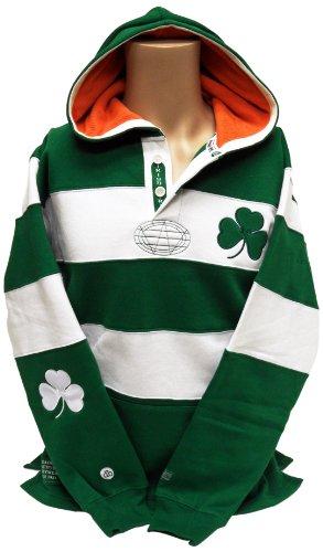Donegal Bay Irland Rugby Shirt Hoodie, Jungen Damen, Medium