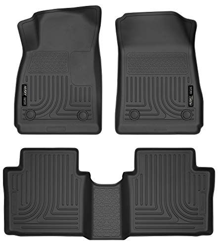 Husky Liners Fits 2014-20 Chevrolet Impala Weatherbeater Front & 2nd Seat Floor Mats
