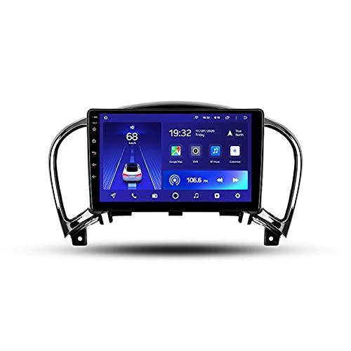 Para Nissan Juke 2010-2014,Android 10 9'' Autoradio Con Pantalla Táctil/Enlace Espejo/BT/GPS/Mandos De Volante/Cámara Trasera/4G LTE+5G WIFI/3D Dinámica De Conducción En Tiempo Real,Cc2l,1+16G